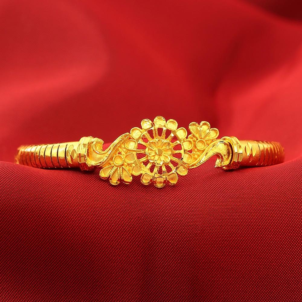 Bg10882 Bala Bangles Gold Plated Shreehari